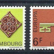 """Sellos: LUXEMBOURG N°724/25** (MNH) 1968 - EUROPA """"DESSINS COMMUNS"""". Lote 228085090"""