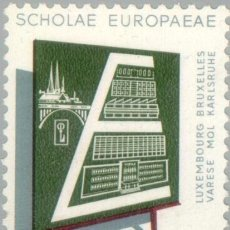 Sellos: LUXEMBURGO 1963 SCOTT 400 SELLO ** EDUCACION ESCUELAS EUROPEAS BRUSSELS, VARESE, MOL, AND KARLSRUHE. Lote 235683830