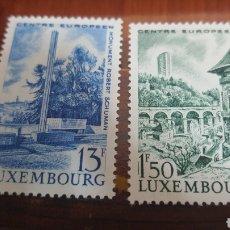Sellos: LUXEMBURGO SERIE TURISMO 1966 - NUEVOS. Lote 243159795