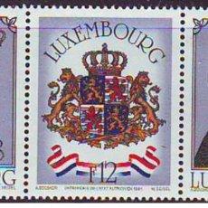 Sellos: SELLOS USADOS DE LUXEMBURGO 1981, YT 972/ 74. Lote 243669120