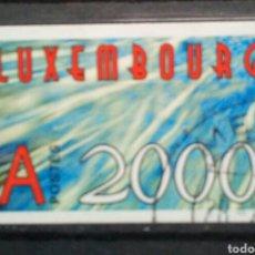 Sellos: LUXEMBURGO 2000 NUEVO MILENIO SELLO USADO. Lote 257765435