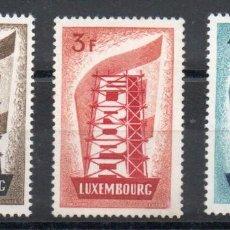 Sellos: LUXEMBURGO AÑO 1956 YV 514/16*** EUROPA. Lote 260321775