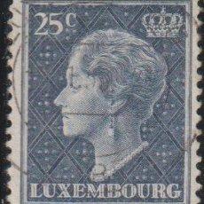 Sellos: LUXEMBURGO 1948 SCOTT 251 SELLO º PERSONAJES GRAN DUQUESA CHARLOTTE MICHEL 445 YVERT 415 LUXEMBOURG. Lote 268412694