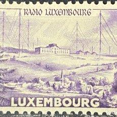Sellos: LUXEMBURGO, 1953. YVERT 471. ANIV. RADIO LUXEMBURGO. SERIE COMPLETA. NUEVO. CON CHARNELA. Lote 274343123