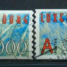 Sellos: LUXEMBURGUO 2000 NUEVO MILENIO SERIE DE SELLOS USADOS. Lote 277554738