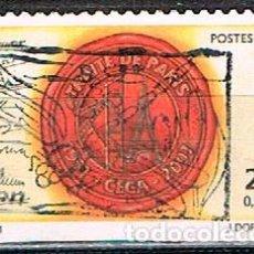 Sellos: LUXEMBURGO Nº 1530, 50 ANIVERSARIO DEL TRATADO DE PARIS, USADO. Lote 278393488