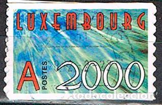 LUXEMBURGO Nº 1494, AUTO ADHESIVOS, AÑO 2000, USADO (Sellos - Extranjero - Europa - Luxemburgo)