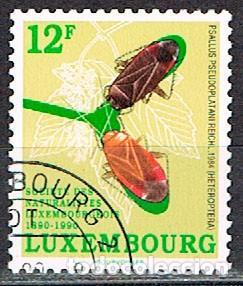 LUXEMBURGO, IVERT Nº 1197, CENTENARIO DE SOCIEDAD DE NATURALISTAS LUXEMBURGUESES, USADO (Sellos - Extranjero - Europa - Luxemburgo)