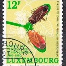 Sellos: LUXEMBURGO, IVERT Nº 1197, CENTENARIO DE SOCIEDAD DE NATURALISTAS LUXEMBURGUESES, USADO. Lote 278397143