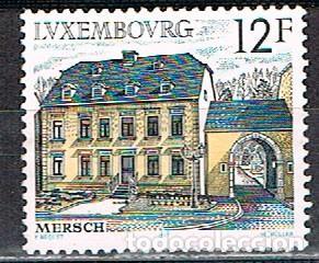 LUXEMBURGO, IVERT Nº 1131, INTERIOR DEL CASTILLO DE CLERVAUX, NUEVO SIN GOMA (Sellos - Extranjero - Europa - Luxemburgo)