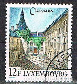 LUXEMBURGO, IVERT Nº 1180, INTERIOR DEL CASTILLO DE CLERVAUX, USADO (Sellos - Extranjero - Europa - Luxemburgo)
