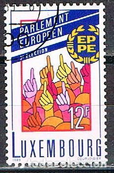 LUXEMBURGO, IVERT Nº 1172, 3ª ELECCIÓNES AL PARLAMENTO EUROPEO, USADO (Sellos - Extranjero - Europa - Luxemburgo)