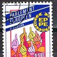 Sellos: LUXEMBURGO, IVERT Nº 1172, 3ª ELECCIÓNES AL PARLAMENTO EUROPEO, USADO. Lote 278400153
