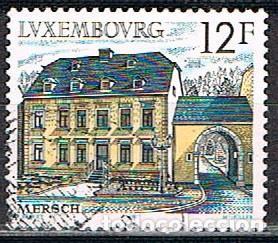 LUXEMBURGO, IVERT Nº 1131, INTERIOR DEL CASTILLO DE CLERVAUX, USADO (Sellos - Extranjero - Europa - Luxemburgo)