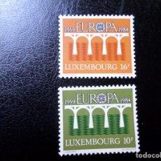 Sellos: +LUXEMBURGO, 1984, EUROPA, YVERT 1048/9. Lote 288080388
