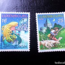 Sellos: +LUXEMBURGO, 1997, EUROPA, CUENTOS Y LEYENDAS, YVERT 1368/9. Lote 288081198