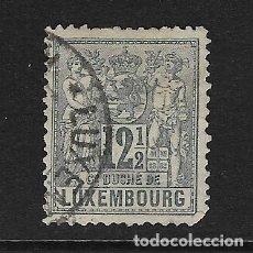 Sellos: LUXEMBURGO - CLÁSICO. YVERT Nº 52 USADO Y DEFECTUOSO. Lote 289529108