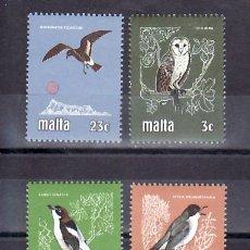 Sellos: MALTA 612/5 SIN CHARNELA, FAUNA, AVES, PAJAROS, PROTECCION DE LA VIDA SALVAJE, . Lote 9892334