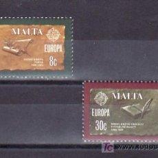 Sellos: MALTA 603/4 SIN CHARNELA, TEMA EUROPA 1980, LITERATURA, . Lote 9892382