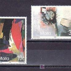 Sellos: MALTA 883/4 SIN CHARNELA, TEMA EUROPA 1993, ARTE CONTEMPORANEO . Lote 10225598