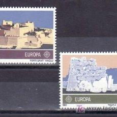 Sellos: MALTA 668/9 SIN CHARNELA, TEMA EUROPA 1983, GRANDES OBRAS DE LA HUMANIDAD, . Lote 10225617