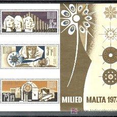 Sellos: MALTA HB 3 SIN CHARNELA, NAVIDAD, . Lote 11556296