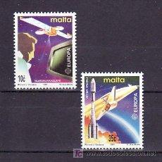 Sellos: MALTA 833/4 SIN CHARNELA, TEMA EUROPA 1991, EUROPA Y EL ESPACIO,. Lote 10515539