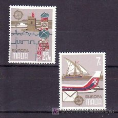 Sellos: MALTA 583/4 SIN CHARNELA, TEMA EUROPA 1979, HISTORIA POSTAL, . Lote 10516077