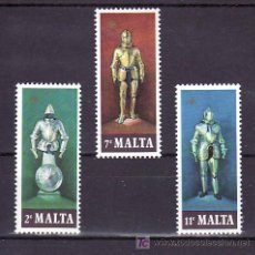 Sellos: MALTA 537/9 SIN CHARNELA, ARMADURAS, . Lote 10517746