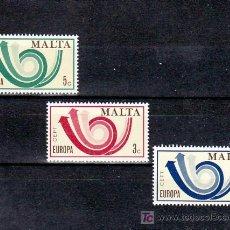 Sellos: MALTA 474/6 SIN CHARNELA, TEMA EUROPA 1973, . Lote 10517841