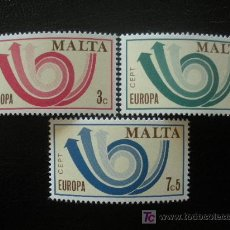 Sellos: MALTA 1974 IVERT 474/6 *** EUROPA. Lote 17920401