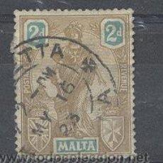 Sellos: MALTA,YVERT TELLIER 107. Lote 21381158