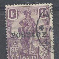 Sellos: MALTA,YVERT TELLIER 87. Lote 21381187