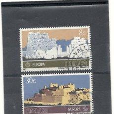 Sellos: MALTA 1983, YVERT Nº 668/669, TEMATICA EUROPA. USADO-MATASELLADO.. Lote 27676593
