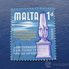 Sellos: 1965 MALTA, YVERT 304. Lote 30396475
