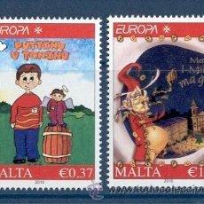 Sellos: MALTA 2010. EUROPA. CUENTOS INFANTILES. Lote 30557999