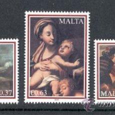 Sellos: MALTA 2010. NAVIDAD.. Lote 30558159