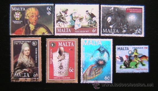MALTA -LOTE DE SELLOS (Sellos - Extranjero - Europa - Malta)