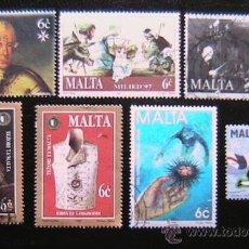 Sellos: MALTA -LOTE DE SELLOS. Lote 38101767