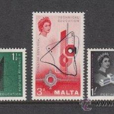 Sellos: MALTA 259/61** - AÑO 1958 - ENSEÑANZA TECNICA. Lote 38439432