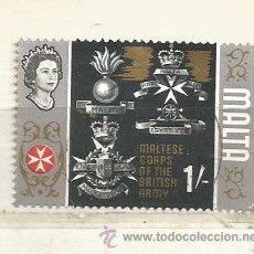 Sellos: MALTA 1965. HISTORIA DE MALTA. Lote 41077185