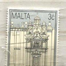Sellos: MALTA 1992. LA VALETTA.. Lote 266714268