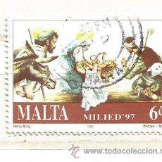 Sellos: MALTA 1997. NAVIDAD. Lote 41077876