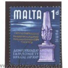 Sellos: MALTA 1965 - YVERT NRO. 304 - USADO. Lote 42408307