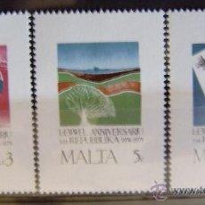 Sellos: MALTA - IVERT 516/18 NUEVOS*** SIN CHARNELA. Lote 43845643