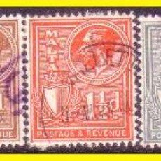 Sellos: MALTA 1926 YVERT Nº 117 A 123 (O). Lote 44210754