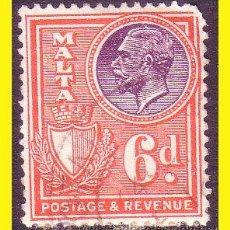 Sellos: MALTA 1926 YVERT Nº 126 (O). Lote 44210782