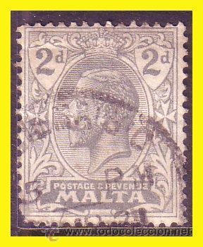 MALTA 1921 YVERT Nº 61 (O) (Sellos - Extranjero - Europa - Malta)