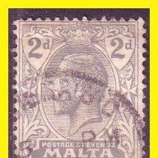 Sellos: MALTA 1921 YVERT Nº 61 (O). Lote 44210872