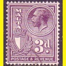 Sellos: MALTA 1926 YVERT Nº 123 (O). Lote 44211060